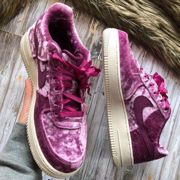 nike air force 1 velvet purple